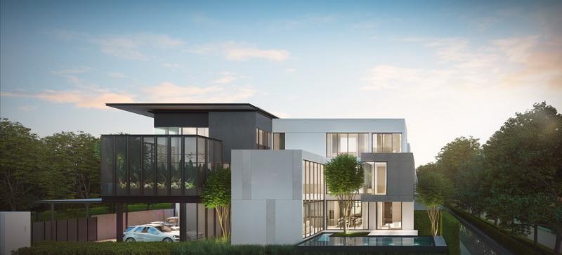 บ้านพร้อมสระว่ายน้ำสวย